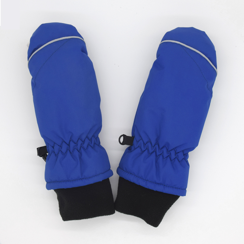 1-7years Good Quality Baby Mitten For Winter Kids Boys Girls Outdoor Warm Gloves Waterproof Windproof S1025