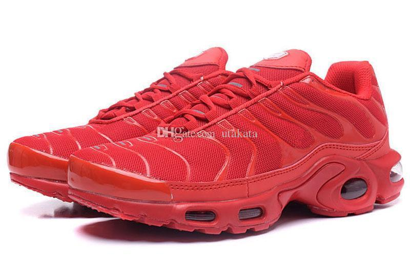 New Wholesale Tn Running Shoes Sport Shoes Good Quality Athletics Cheap Shoes Size Euro 40-46