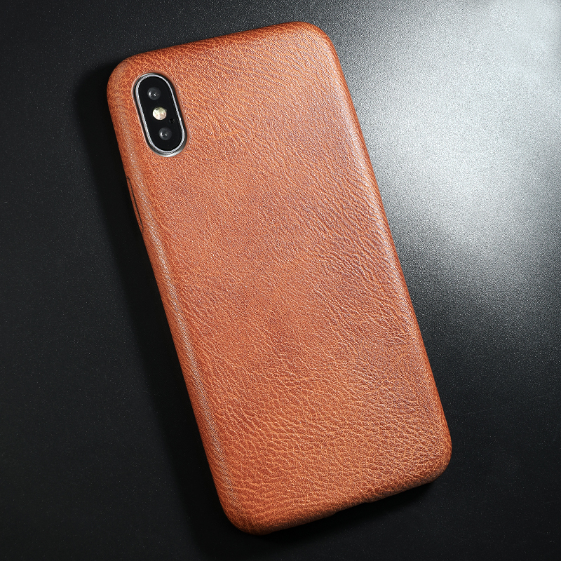 PU Leather Pattern Phone Case for iphone 6 6s 7 8 plus Case Back Cover For iphone X xs max XR Case (12)