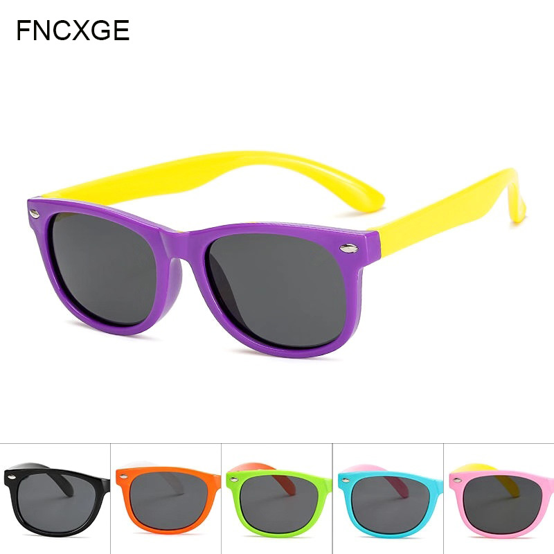 2018 Fashion Boys Girls Kids Sunglasses Glass Child Goggles Bow Eyewear UV ZX
