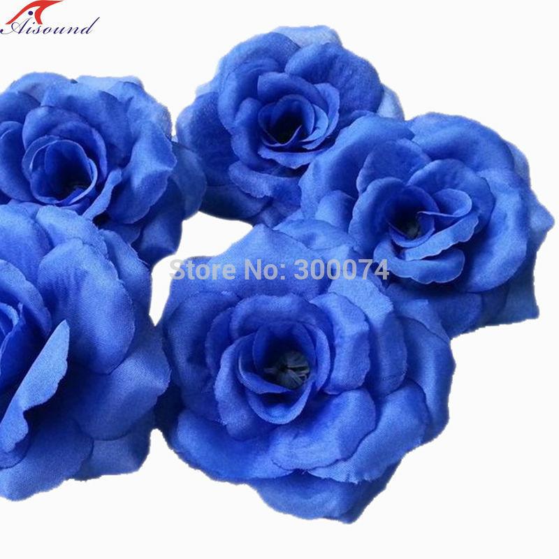 Royal blue rose flowers