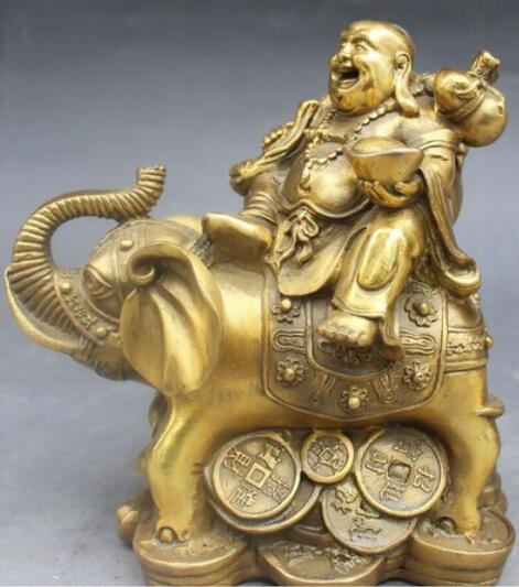 china Bronze Handmade Statue Vivid Riches And Honour Elephant