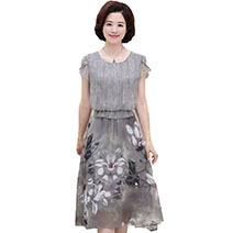 Plus-Size-dress-middle-aged-new-summer-dress-female-middle-aged-women-s-temperament-large-size