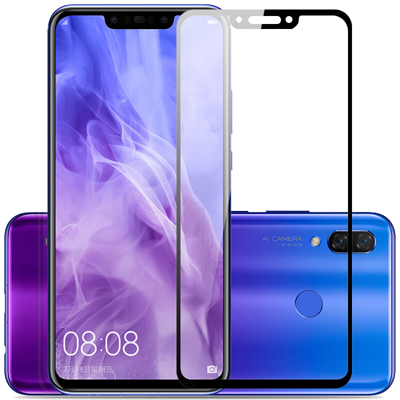 MAKAVO-For-Huawei-Nova-3-Tempered-Glass-2-5D-Full-Cover-Screen-Protector-Armor-Film-For (1)