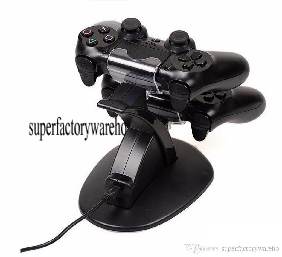 Ps4 Xbox One Wireless Controller 2 Usb Charging Dock Mount Stand Holder For Ps4 Xbox One Gamepad Playstation Dual Chargers