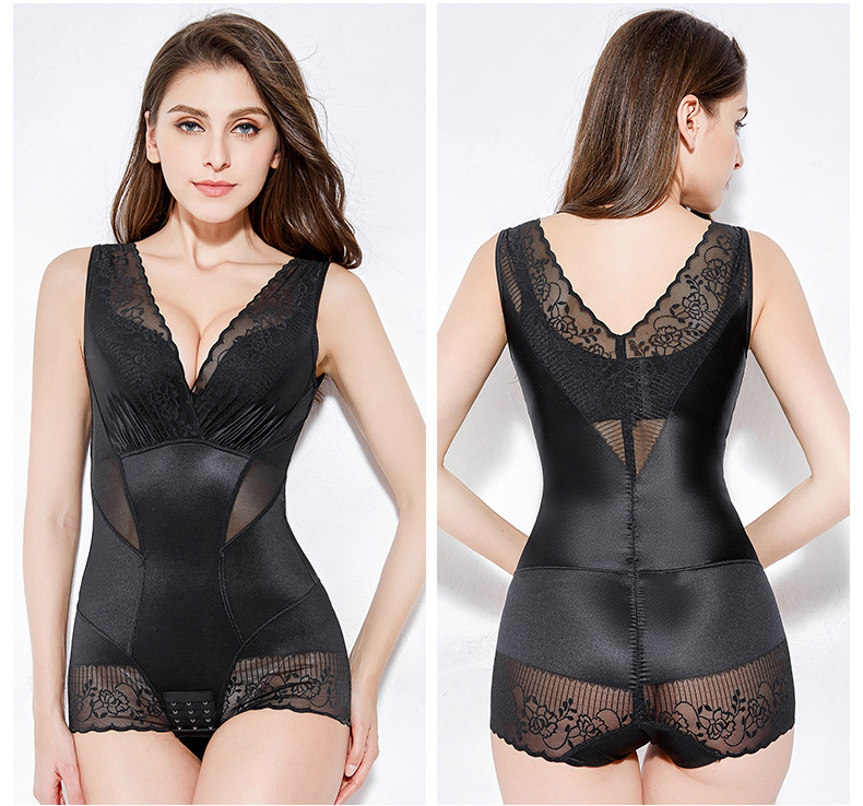 CXZD Women Slimming Underwear Shaper Recover Bodysuits Shapewear Waist Corset Girdle Waist Traine Push Up Vest Tummy Belly Body Shaper Waist Cincher (12)