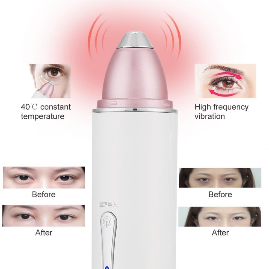 Eye Massager Rf Ems Hot Compress High Frequency Vibration Eye Skin Rejuvenation Eye Skin Lifting Wrinkle Machine T190712