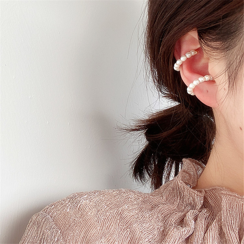 Ling Studs Earrings Hypoallergenic Cartilage Ear Piercing Hollow Love Pendant S925 Sterling Silver Earrings Long Earrings Stud Earrings Women