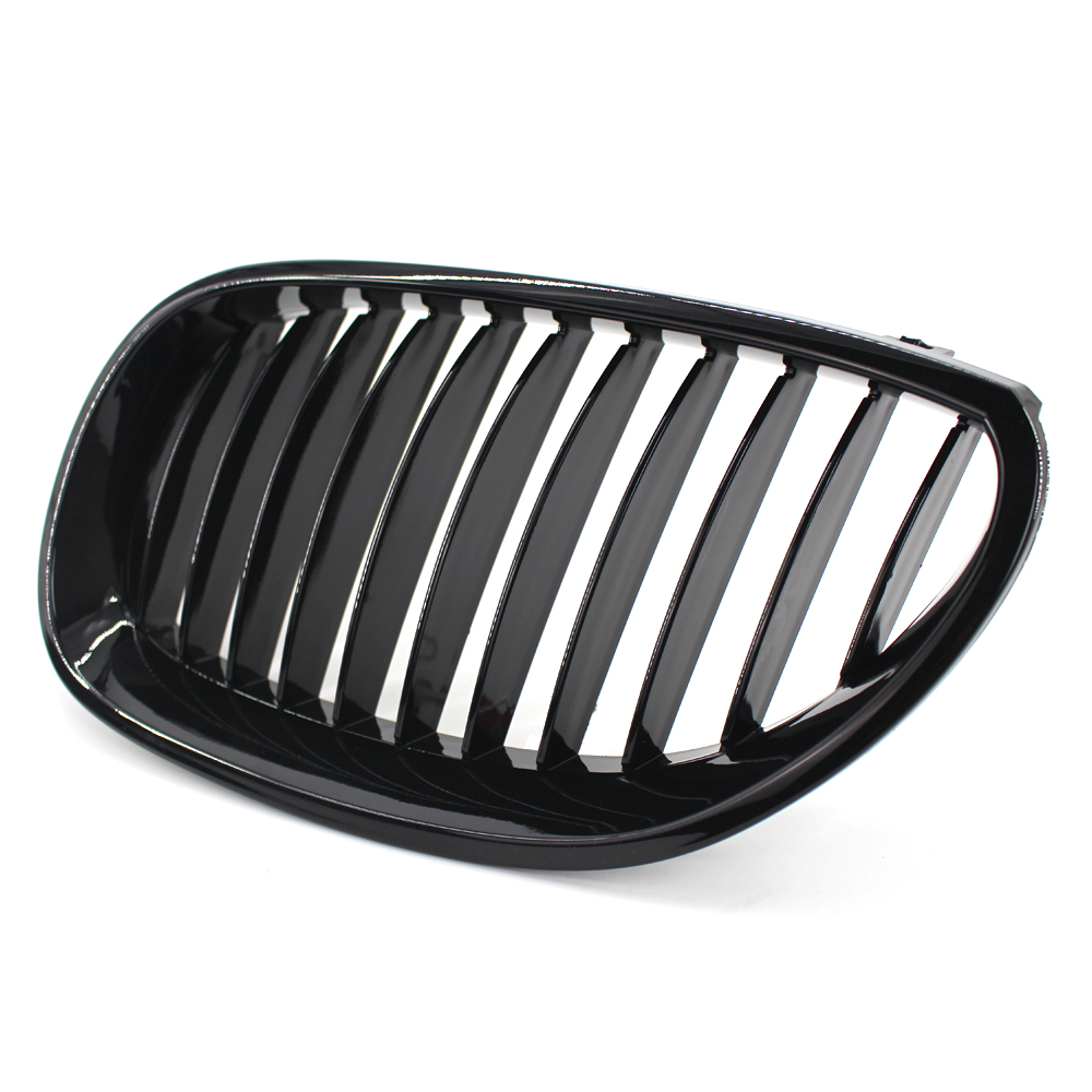 BMW E87 E81 Negro Brillante M Rendimiento Oe Estilo Riñón Rejilla Rejillas Parrillas UK