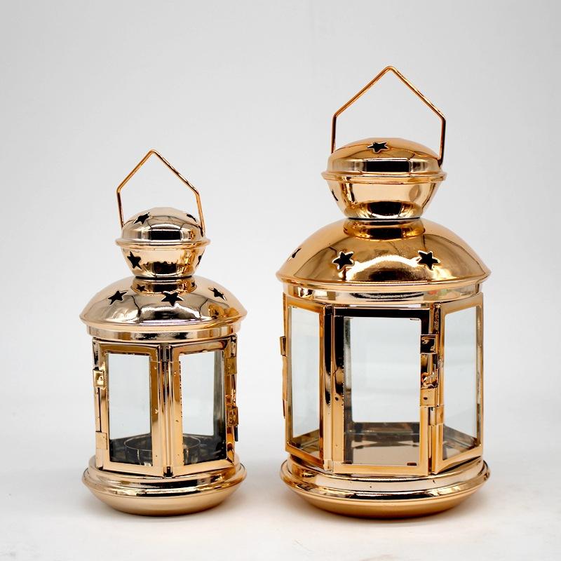 Moroccan Star Lanterns Lamp Hanging Candle Holder Tea Light Home Wedding Decor