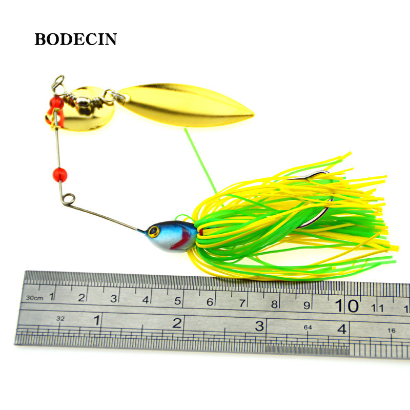 1PS Fishing Lure Wobblers Lures Wobbler Spinners Spoon Bait For Pike Peche Tackle All Artificial Baits Metal Sequins Spinnerbait (7)