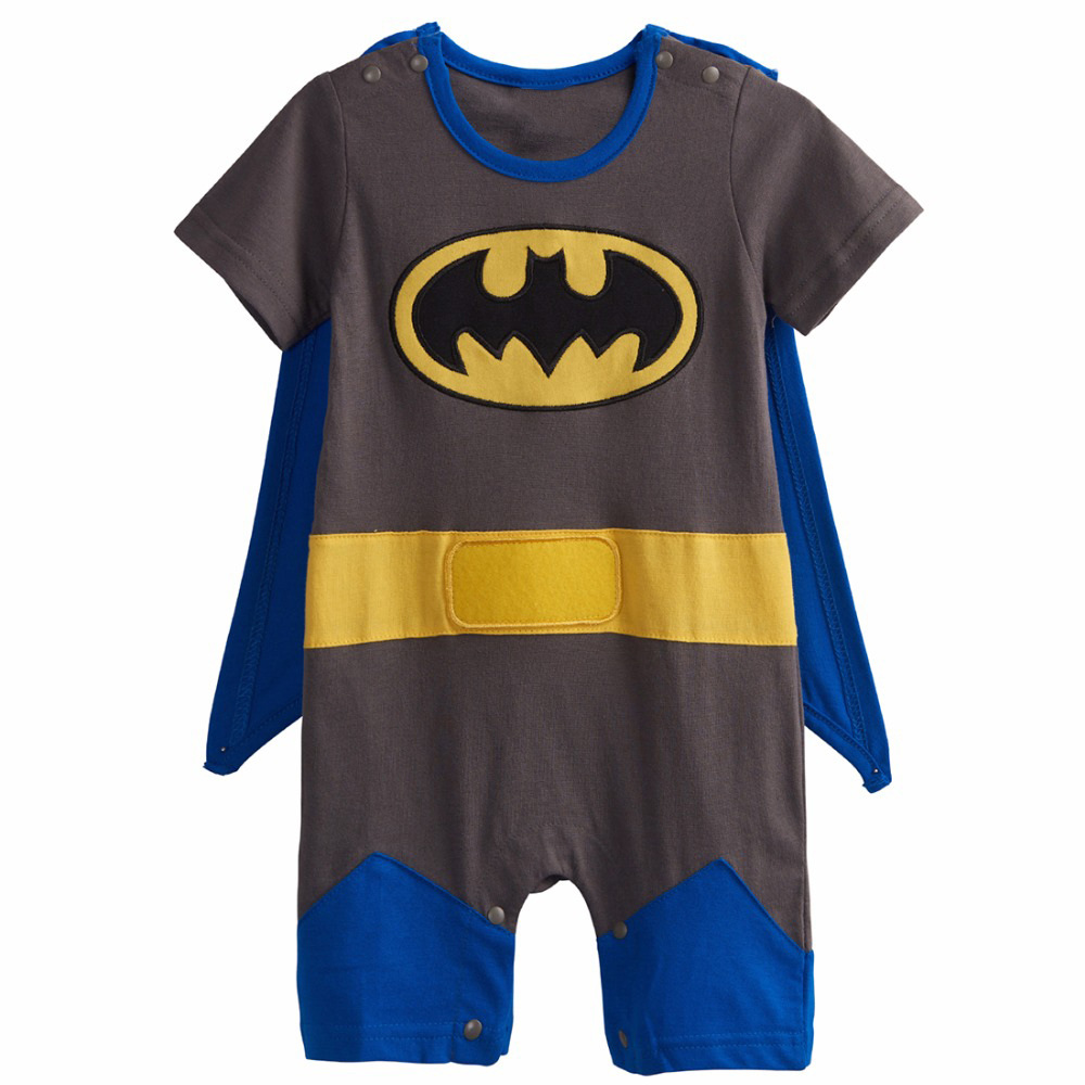 Baby-Boys-Robin-Rompers-Infant-Costume-Jumpsuit-Short-Sleeve-Size-0-24M (2)