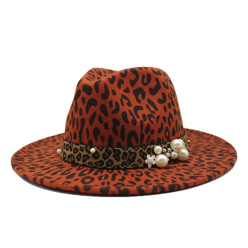 Men Women Wool Cowboy Hat Western Cap Panama Wide Brim Sombrero Sunhat Winter US
