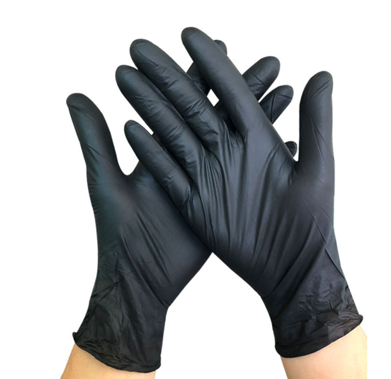 Household Garden Cleaning Gloves Food Grade Durable Nitrile Kitchen Gloves Disposable Nitrile Rubber Protective Gloves DHL Fast Ship