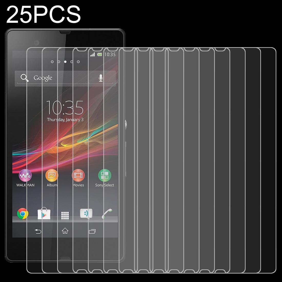LGYD for 50 PCS for Sony Xperia Z Ultra No Retail Package XL39h 0.26mm 9H Surface Hardness 2.5D Explosion-Proof Tempered Glass Film