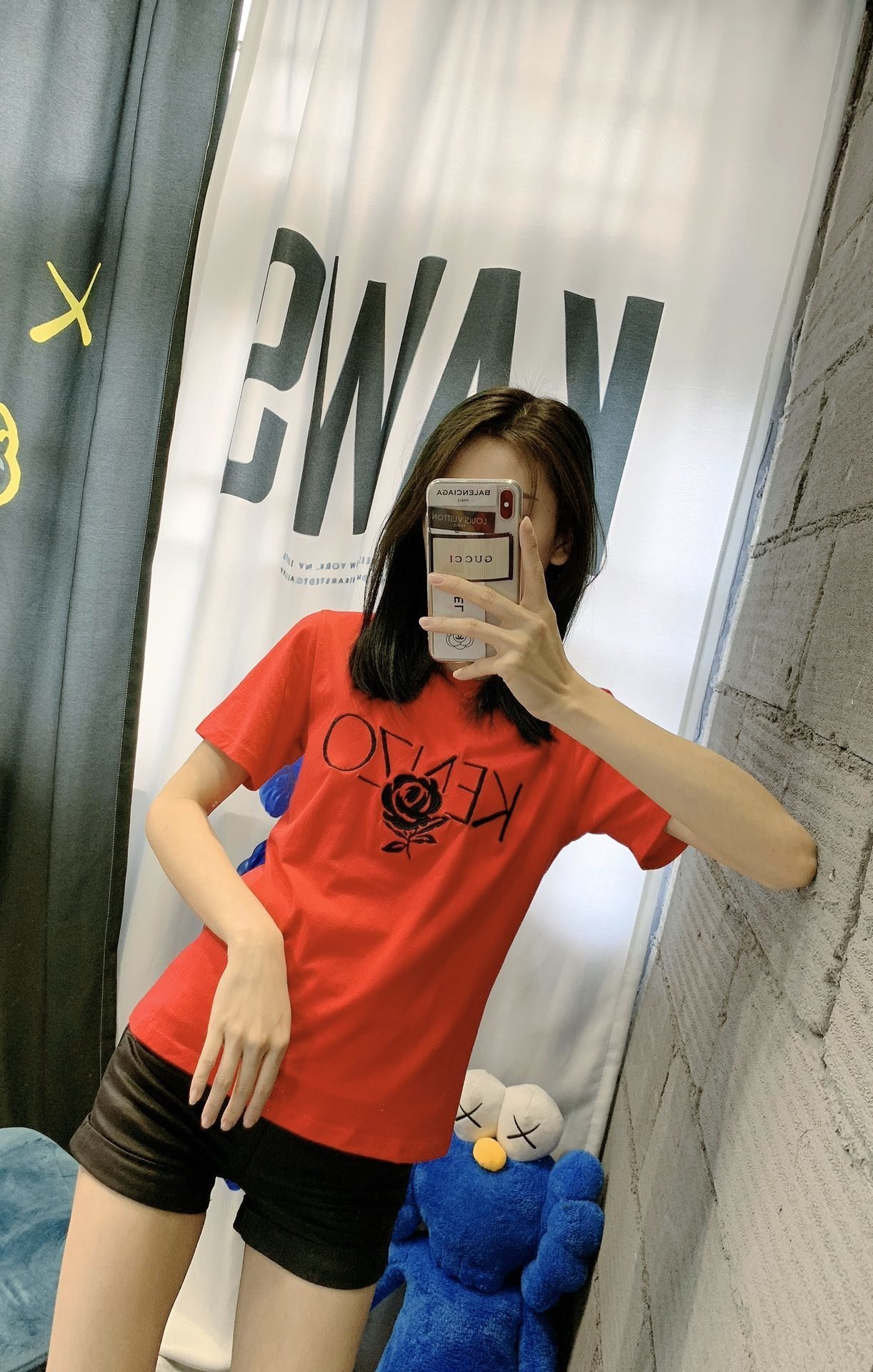 2020 high-quality ladies short-sleeved casual T-shirts and fashionable new tops in spring and summer HROFED1O