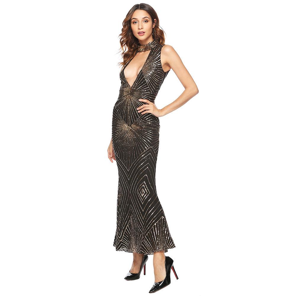 sequin maxi dress 2496 (6)