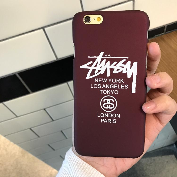 Instgam hot fashion trend telefon case für iphone 5 / 5s / se 6 / 6s 6 / 6splus 7/8 7 / 8plus acryl kunststoff schmutzabweisend brief gedruckt telefon case