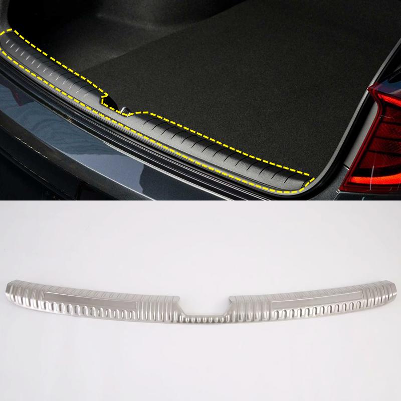 ABS Auto Rear Bumper Anti-collision Board Spoiler Guard For Hyundai Tucson 2015