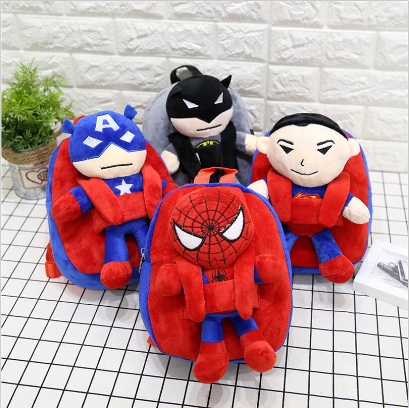 Spider-Man Cute Plush Doll Stuffed Toy with Suction Cup Decoration Child/'s Gift