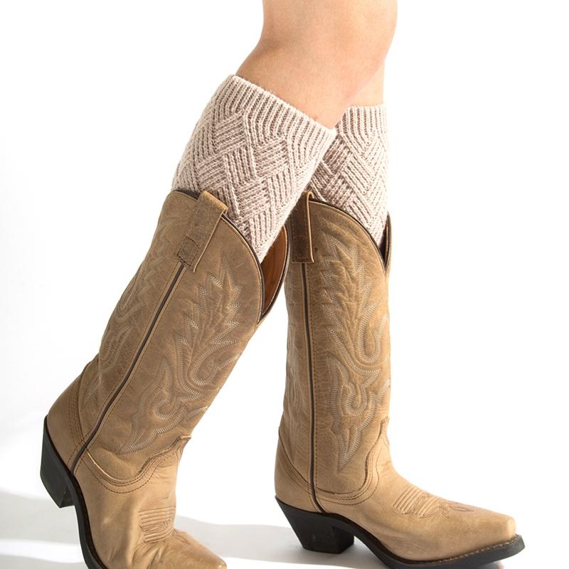 1pair Frauen Knit Beinlinge Tanz Lange Stiefel Stulpen Socken Sport Warme Stiefel Leg F/ür M/ädchen