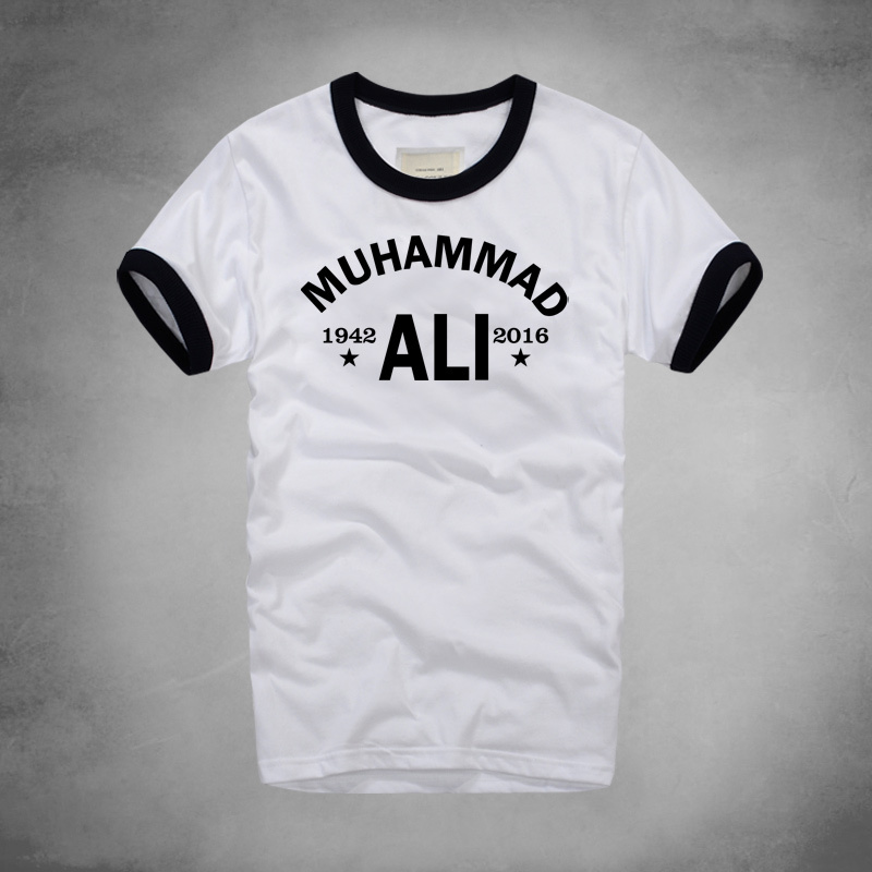MUHAMMAD-ALI-T-shirt-MMA-Casual-Clothing-men-Greatest-Fitness-short-sleeve-printed-top-cotton-tee