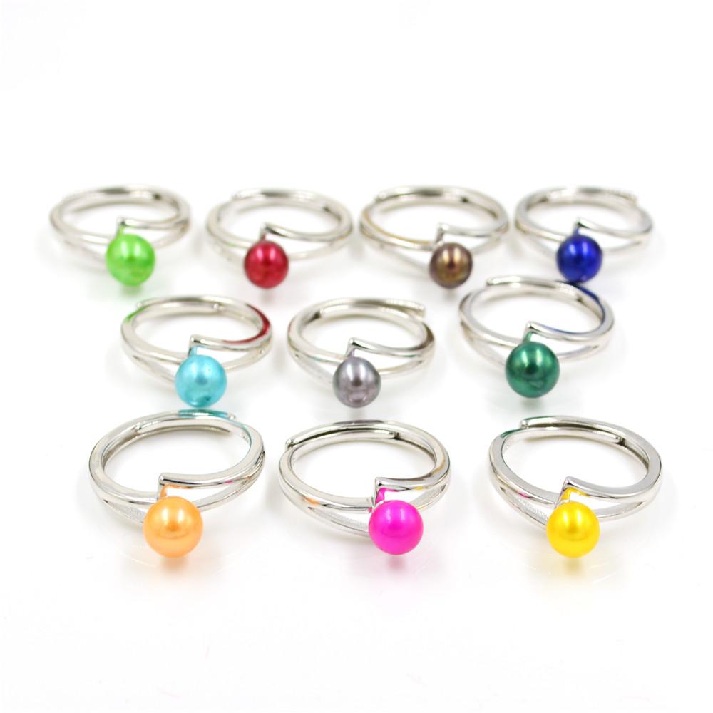 """Fashion 6-7 mm d/'eau douce blanc perle plaqué or chaîne réglable bracelet 8.5/"""""""