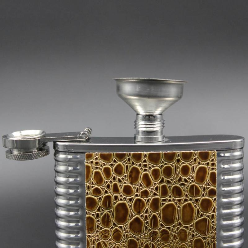 8mm remplisseurs Entonnoir en acier inoxydable pour la plupart des vins Flasque^