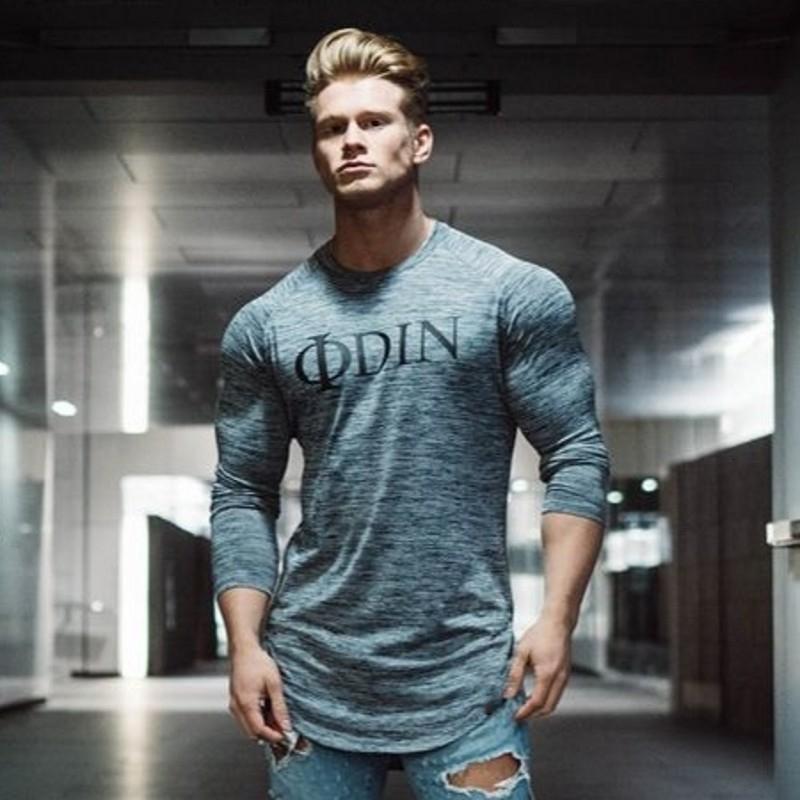 Men Long Sleeve T Shirt Sport gym shirt (13)