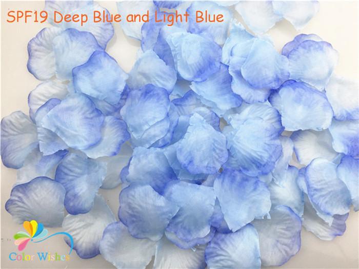 SPF19 Deep Blue and Light Blue