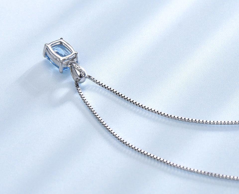 UMCHO Sky blue topaz silver sterling jewelry sets for women EUJ054B-1-pc (8)