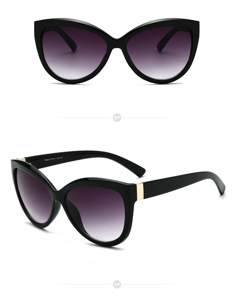Olho De Gato do vintage Óculos De Sol Das Mulheres Tendência de Luxo de  Luxo Gradiente Óculos de Sol Quadro Claro UV400 Shades Eyewear Feminino  Oculos De ... e542f3c2fe