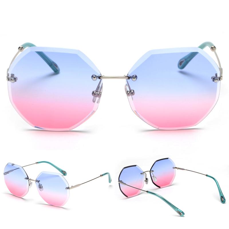 Octagon Sunglasses Women Fashion detaail (7)