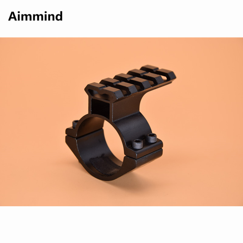 "25mm 1/"" Diameter Rings Mounts Qd High Profile See Through Scope 7//8/"" 20mm Rail"