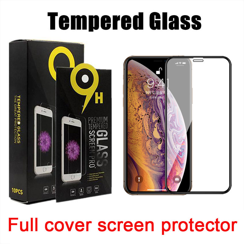 Full cover tempered glass for LG stylo 7 K22 k51 for moto g power 2021 g fast g play 2021 MOTO one 5G Ace E 2020 for samsung A02S A52 A72