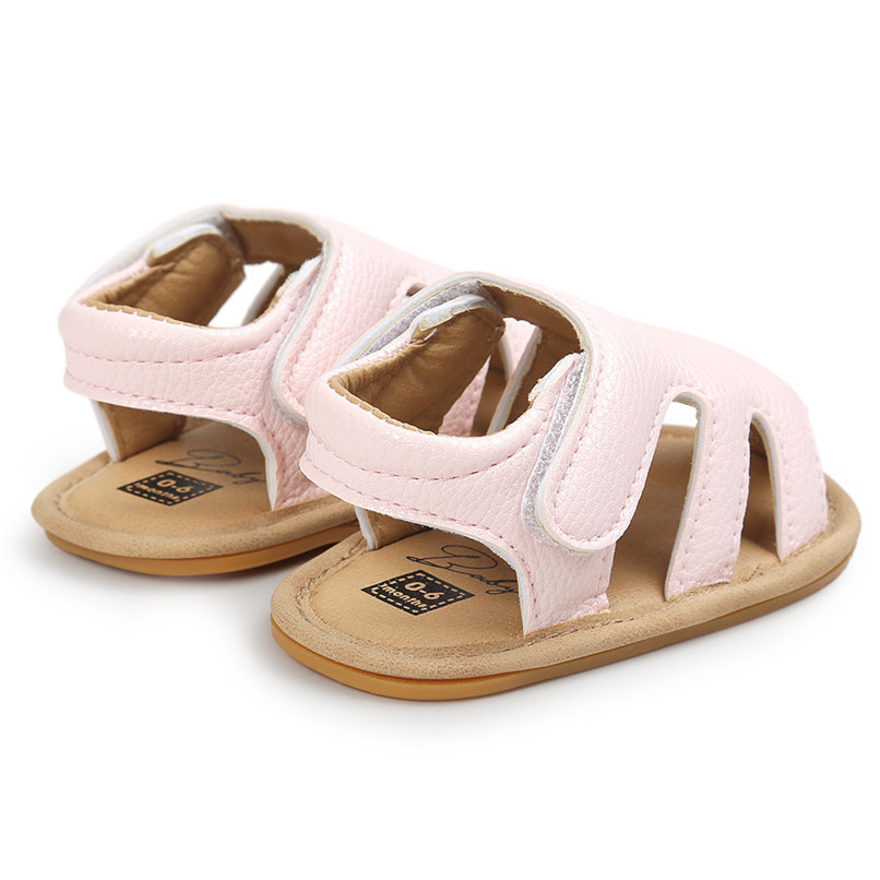 3 Color Summer Fashion Toddler Infant Kids Baby Boys Girls Solid Sandals Casual Anti-slip Soft Sole Shoes Sneaker M8Y02 (11)