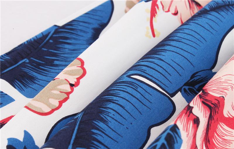 Kostlish Retro Print Flower Summer Skirts Womens High Waist Vintage Skirt Elegant A-Line Midi Women Skirt Plus Size XXL 22 (72)