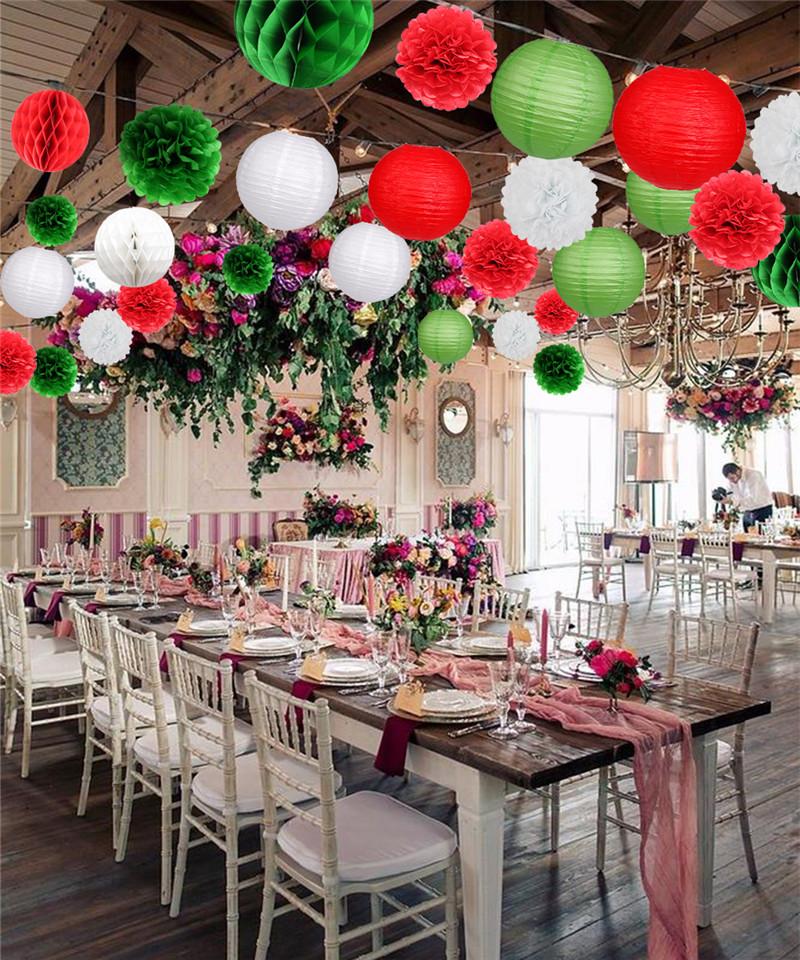 18pcs Christmas party decoration 5_