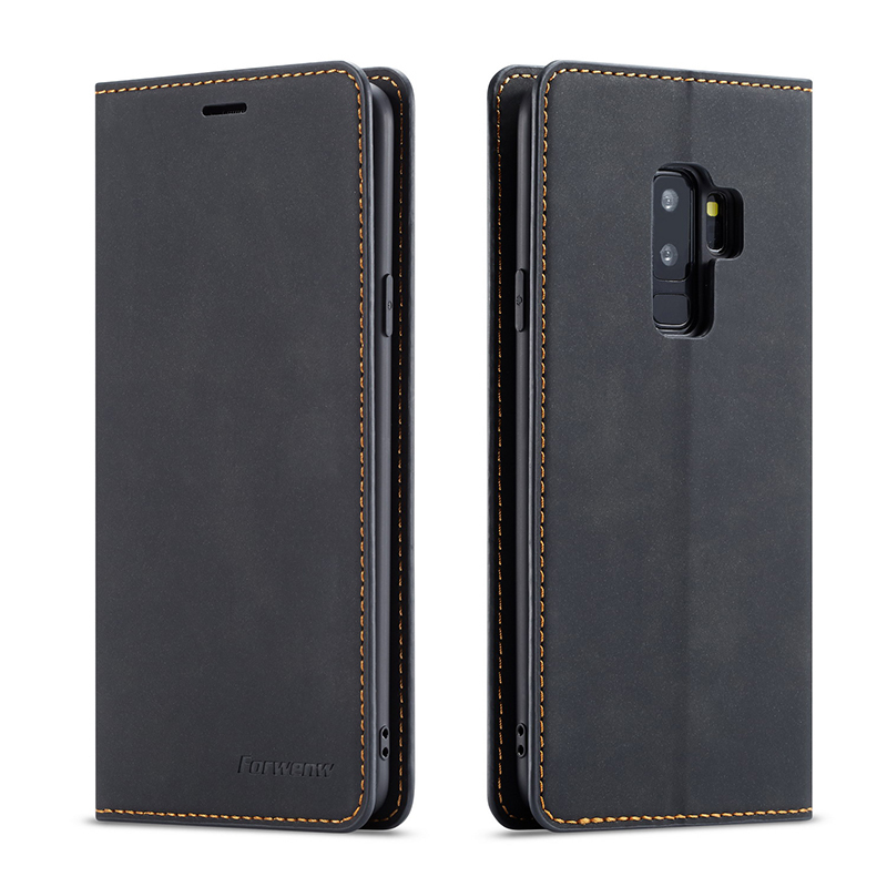 Luxury Leather Case For Samsung S10e S10 S9 S8 Plus Note 9 Phone Case Magnetic Wallet Cover For Samsung Galaxy A7 A8 2018 Cases