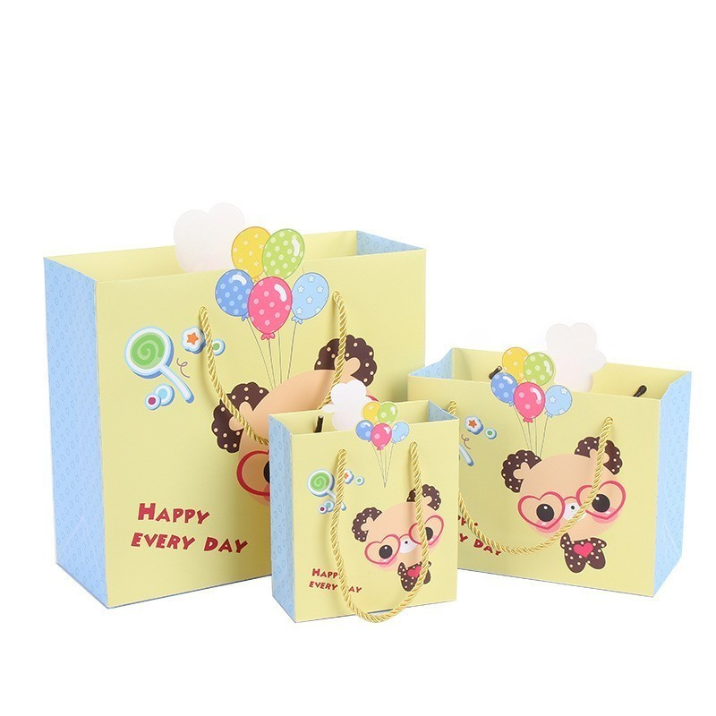 OurWarm Jungle Party Decorations Kraft Paper Gift Bags Animal Decorative Box Sweets And Candy Gift Box Animal Theme Party C18112701