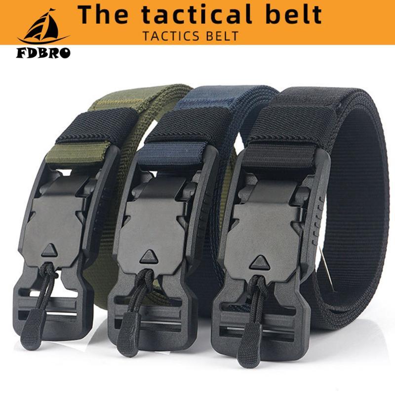 Waistband Waist Belt Mens Buckle Strap Girdle Combat Rigger Sale 2018