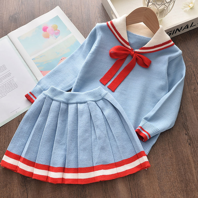 2020 Children Toddler Baby Girls Winter Autumn Clothes Daisy Knitted Cardigan Sweater Knitwear Tops