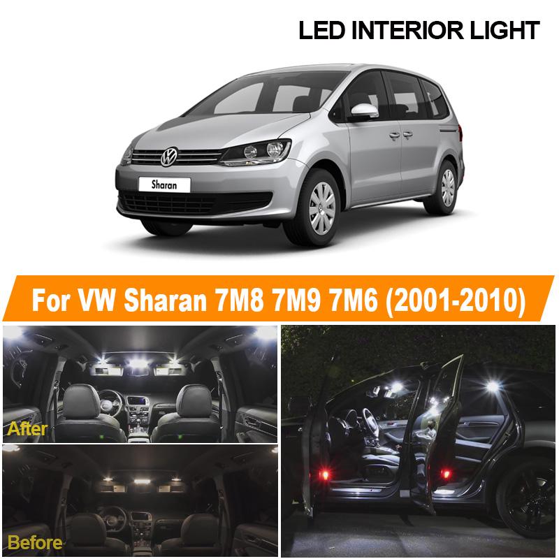 VW Touran 1T1 1T2 White 4-LED Xenon ICE Side Light Beam Bulbs Pair Upgrade