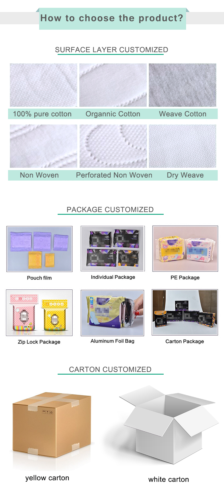 korean style herbal chips belt sanitary pad factory in guangdong