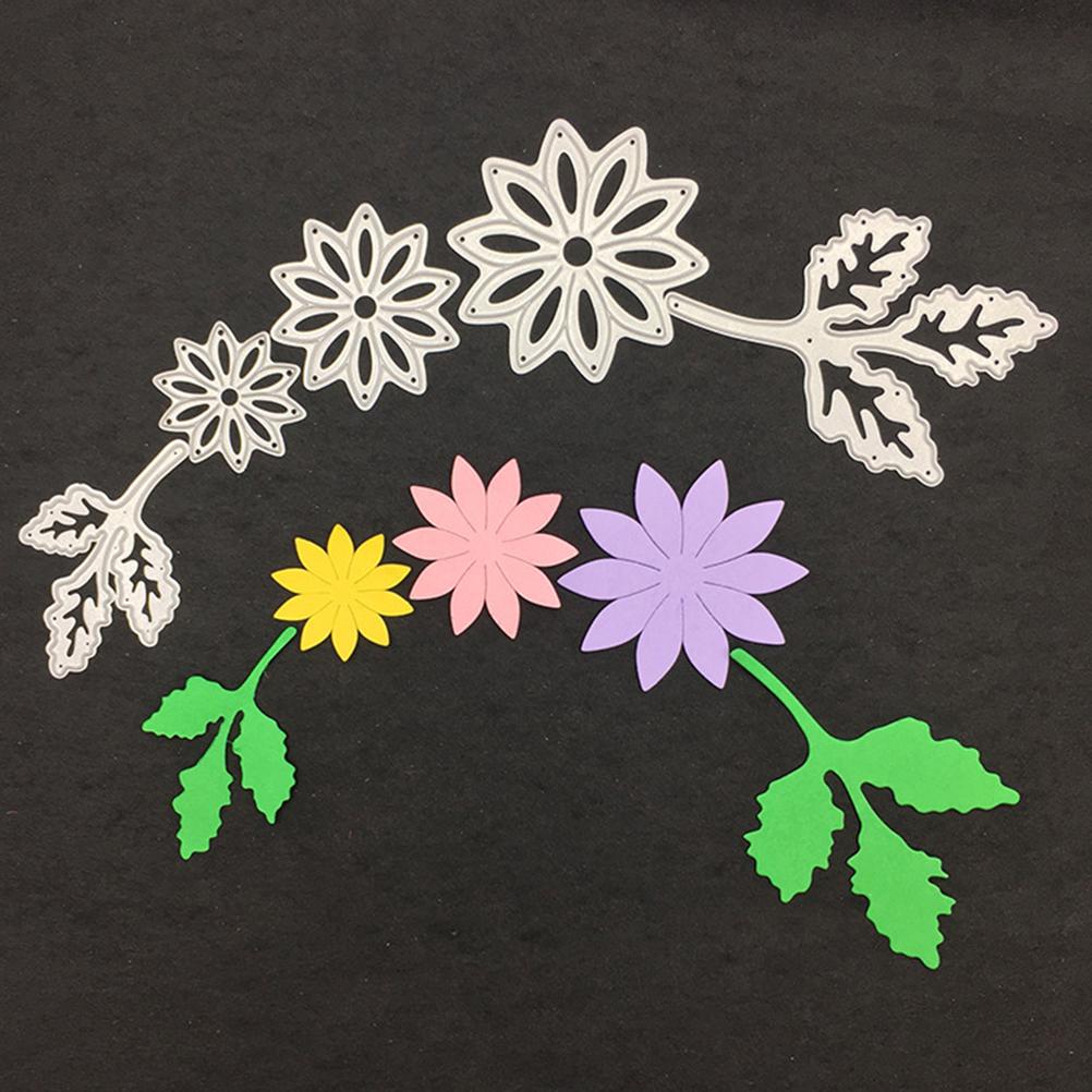 18Pc//set Pretty Flower Metal Cutting Dies Mold Card Embossing Craft DIY New UK