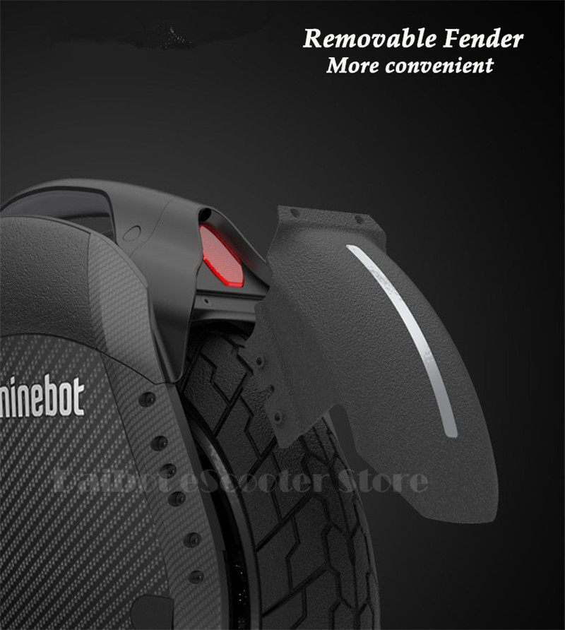 Ninebot One Z10 Powerful Electric Unicycle with Trolley Handle Self Balancing Scooters 45KMH 1800W with Bluetooth Smart APP (21)