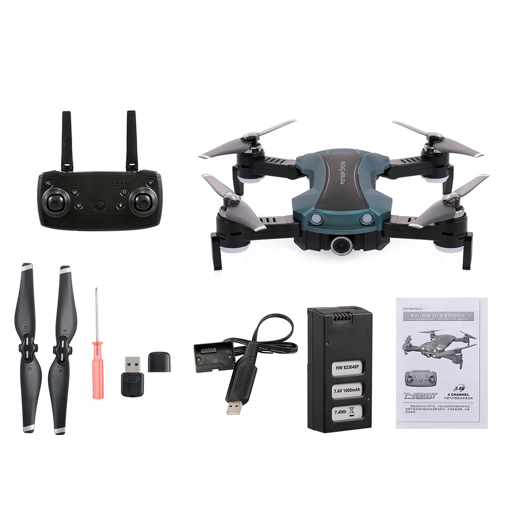 RC Drone with Camera 1080P Wifi FPV Voice Control Optical Flow Altitude Hold RC Quadcopter 69-65G Dron Kids RC Toys