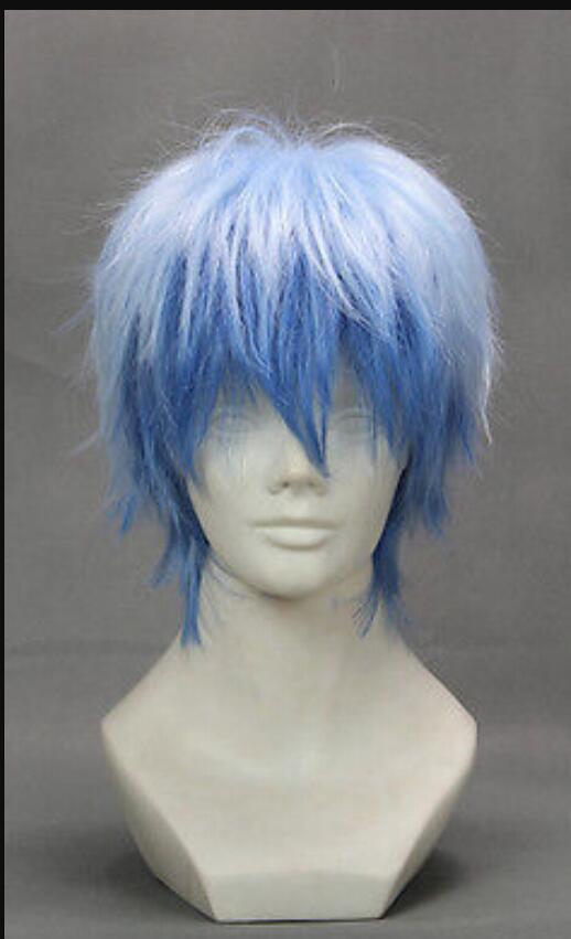 "Party Wig Cosplay Wig Hair 32cm//12.6/"" for Kuroko/'s Basketball-Kuroko Tetsuya"