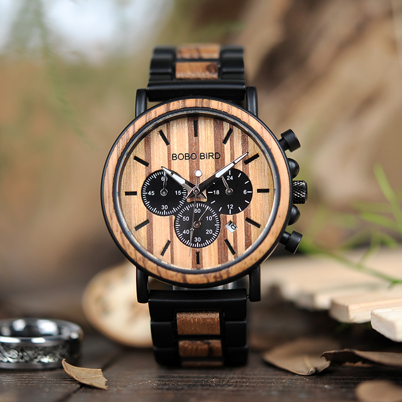 WOODEN WATCHES BOBO BIRD FASHION STYLE (69)