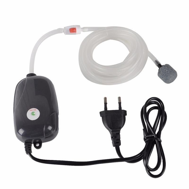 Aquarium Air Pump Mini USB Oxygen Pump Air Compressor Single Double Outlet Water Inflation Pump Aquatic Terrarium Fish Tank Accessories 4